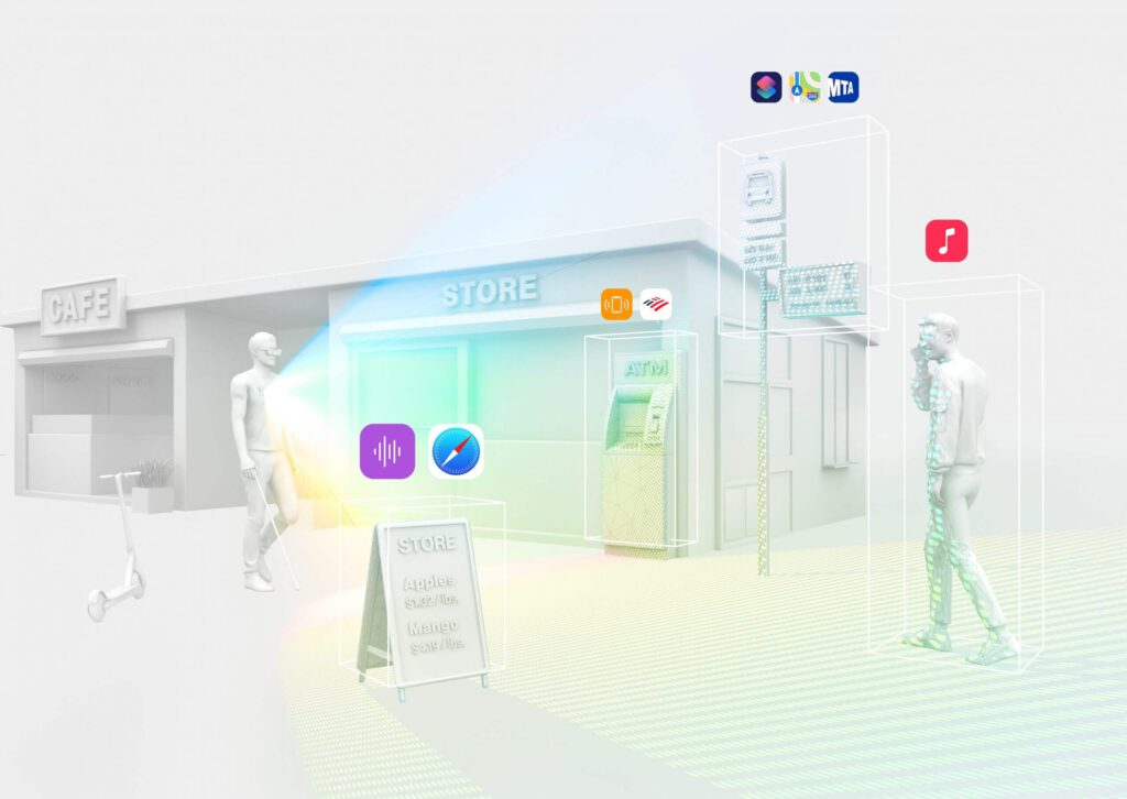 Dot Go app scanning feature shown in a render